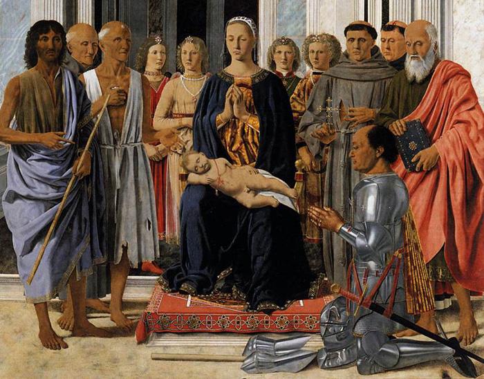 Piero della Francesca: la Sacra Conversazione di Brera – L'Uovo e la Maddalena – Giuliana Poli ©
