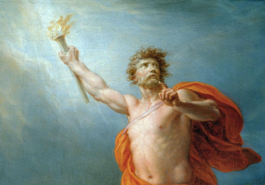 Le quattro età dell'Uomo ed il mito di Prometeo – Valerio Avalon