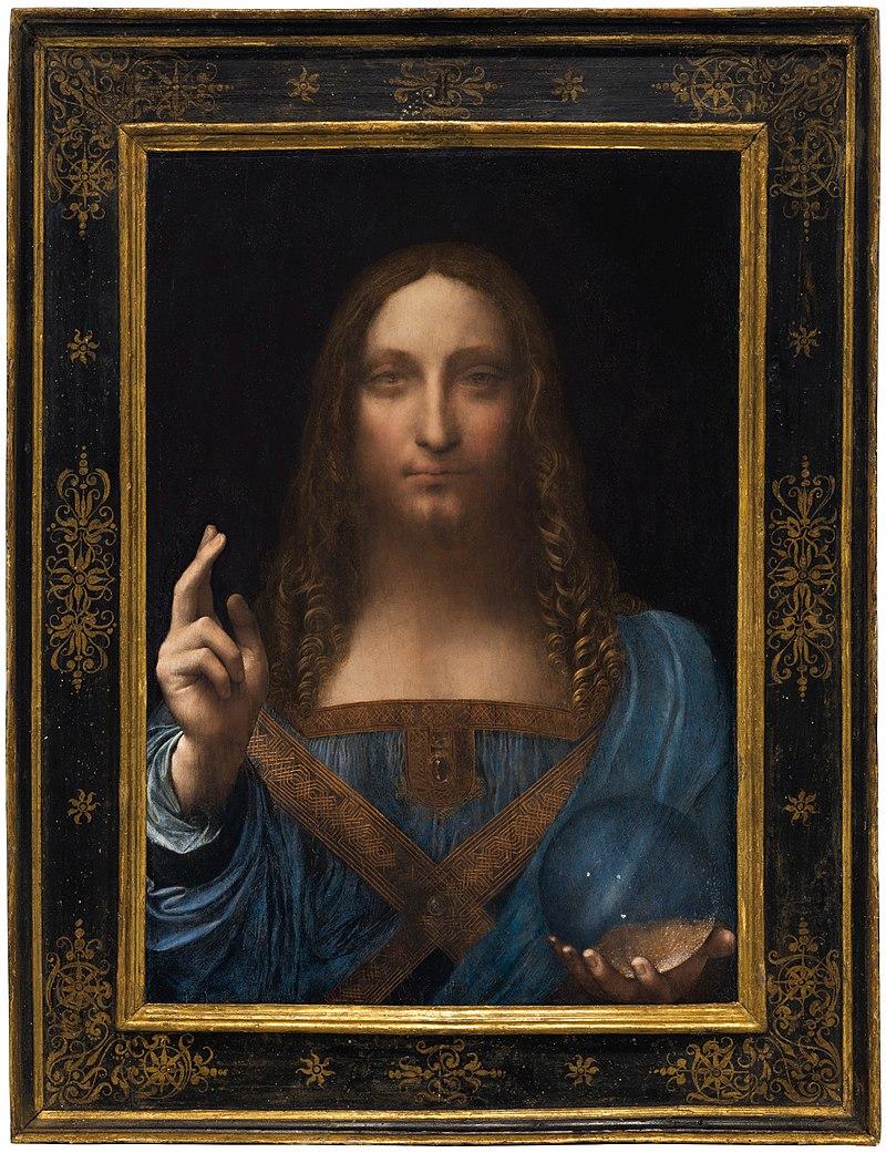 Il Rebis Filosofale in Salvator Mundi  di Leonardo Da Vinci. A cura di Gaetano Barbella