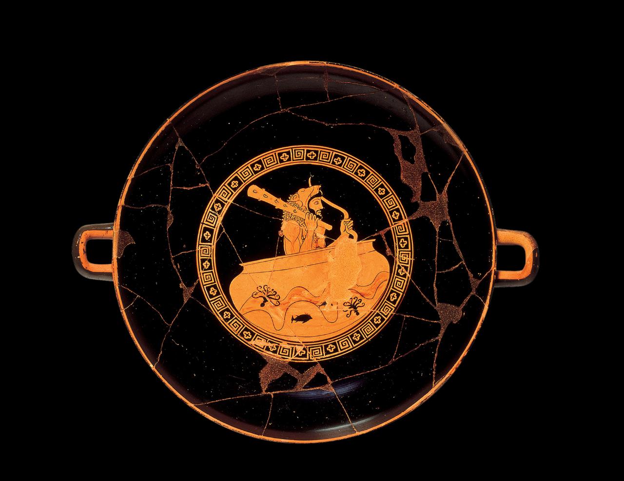 Eracle che attraversa l'Oceano – Giovanni Pucci