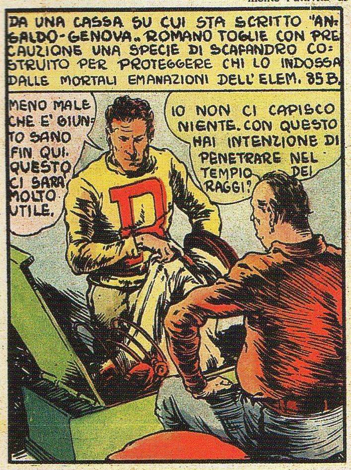 FUMETTO & FASCISMO – MISTERO SULLE ANDE (Le avventure di Romano, 4a parte – Il nemico invisibile) – di Francesco G. Manetti
