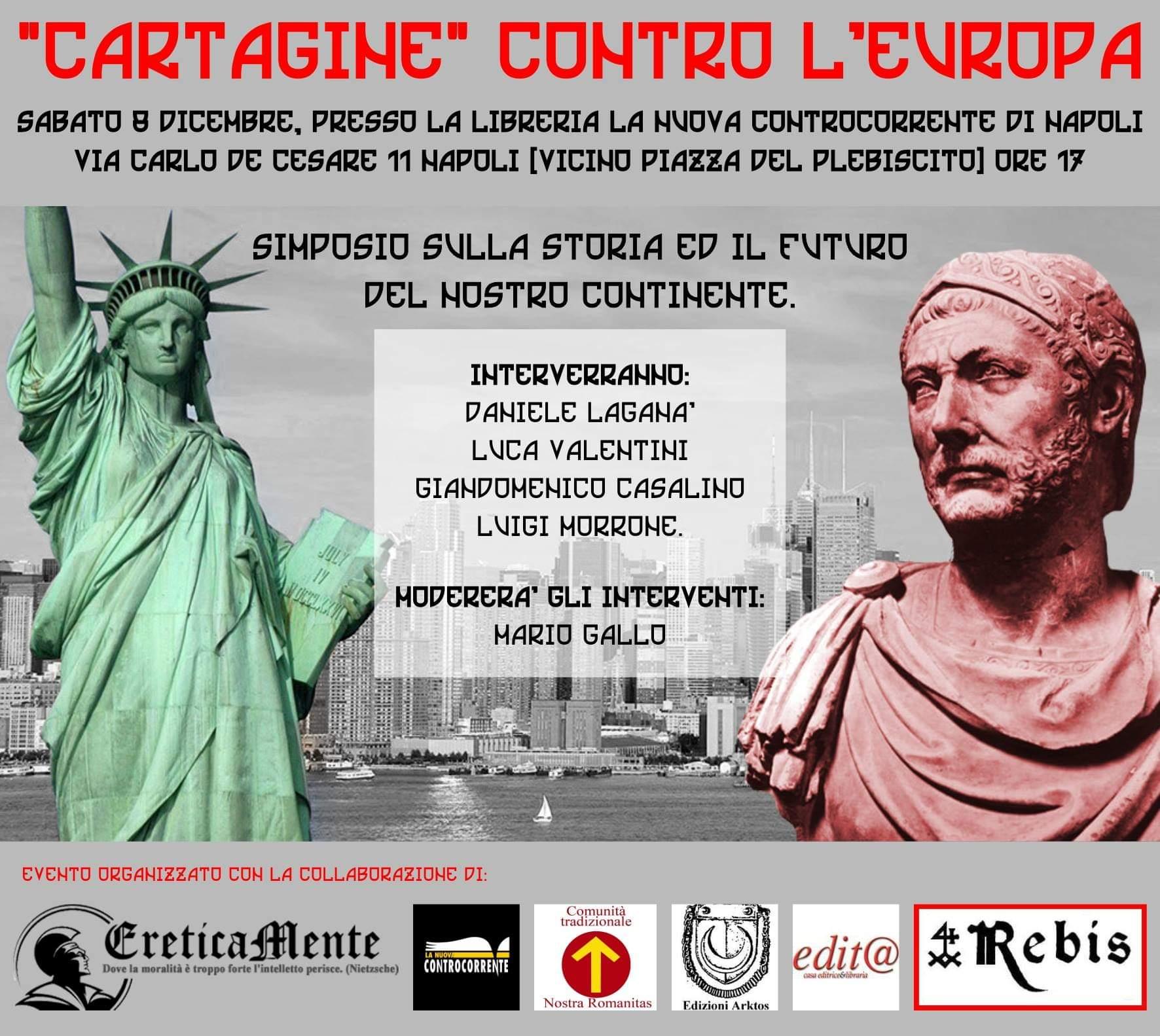 Cartagine contro l'Europa: dibattito storico – filosofico sul destino dell'Europa