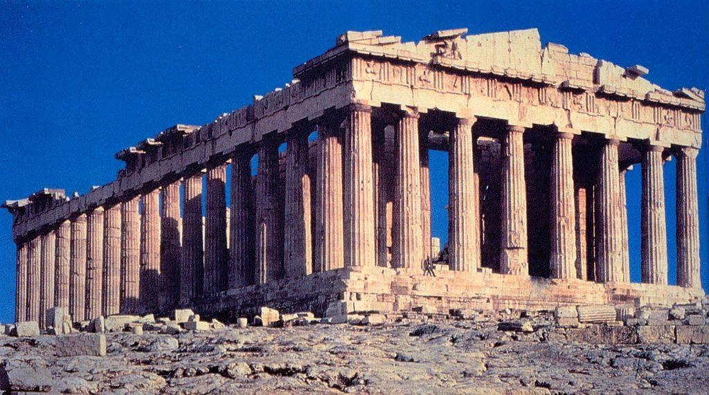Il significato politico del Partenone: il tempio di Athena Parthenos come visione europea – Giovanni Pucci