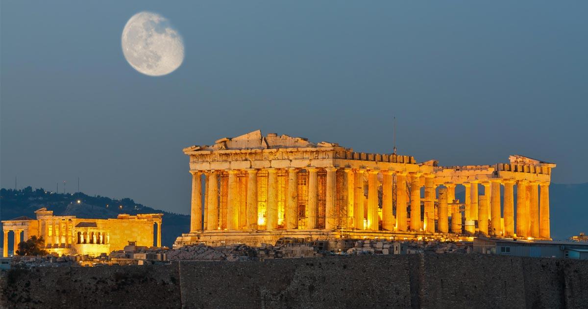 Atene: gli dèi sono ancora qui – Luigi Angelino