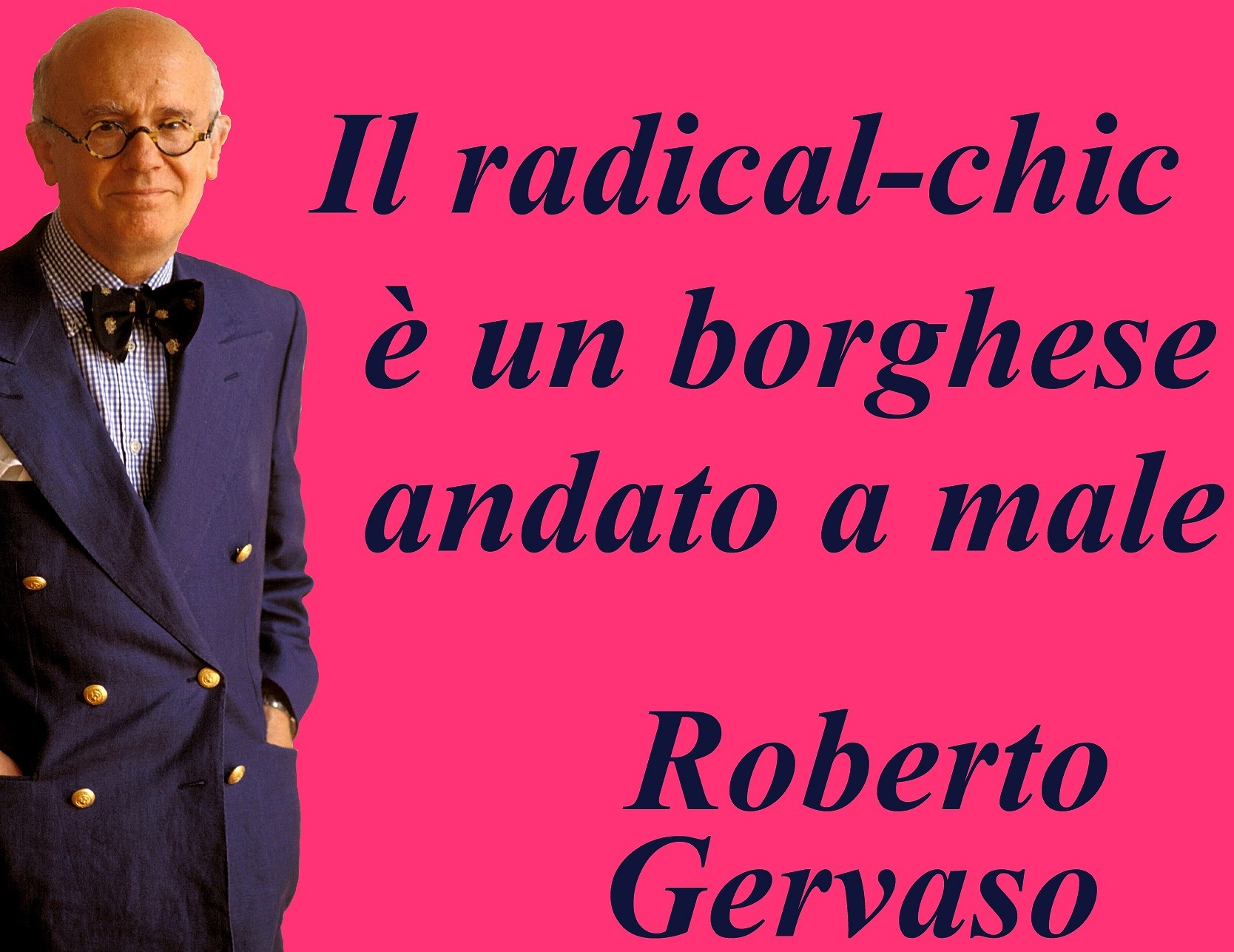 Fenomenologia del Radical Chic (2^ parte) – Roberto Pecchioli