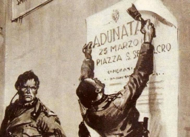XXIII Marzo 1919: i 100 anni del Fascismo – Enrico Marino