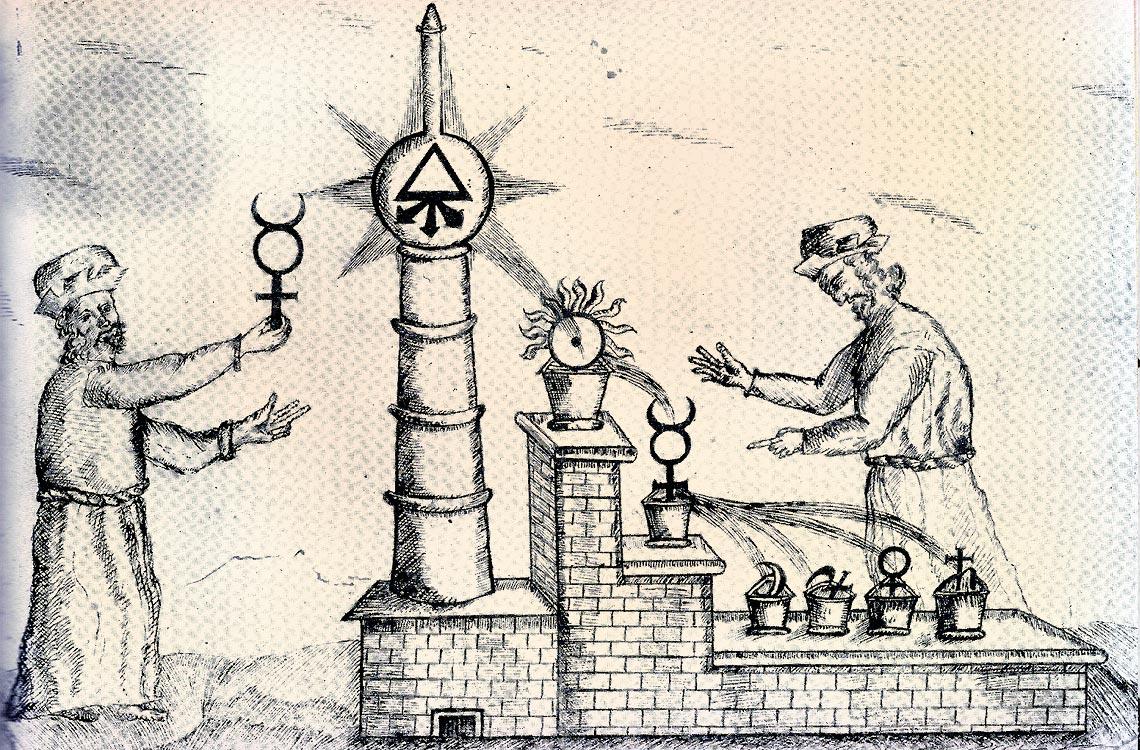Tra l' Alchimia Interna e quella Esterna: Terza Posizione – Mirco A. Mannucci