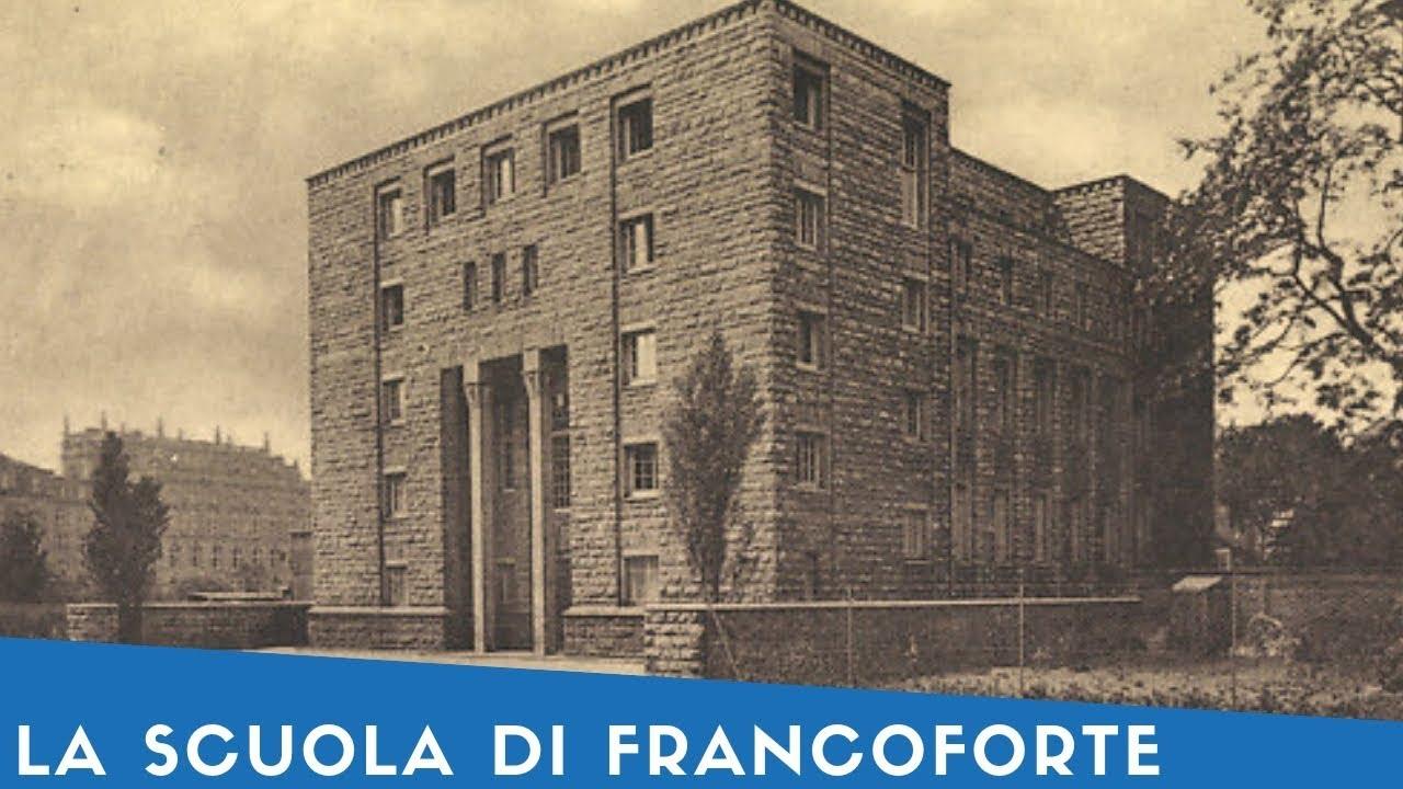 La Scuola di Francoforte: tra potere e contropotere – Roberto Siconolfi