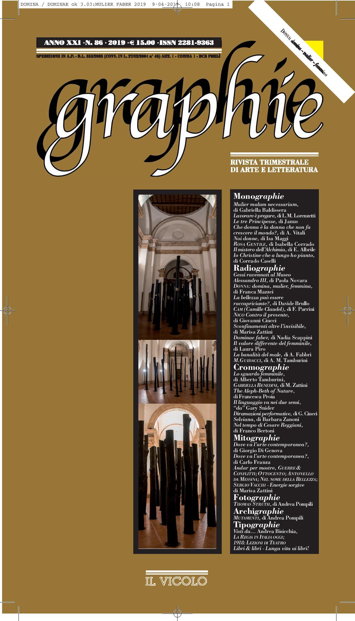 Graphie – Rivista trimestrale di Arte e Letteratura
