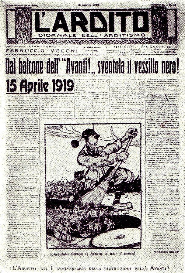La volontà di rivincita: nascono i FdC, Milano 1919 (seconda parte). A cura di Giacinto Reale
