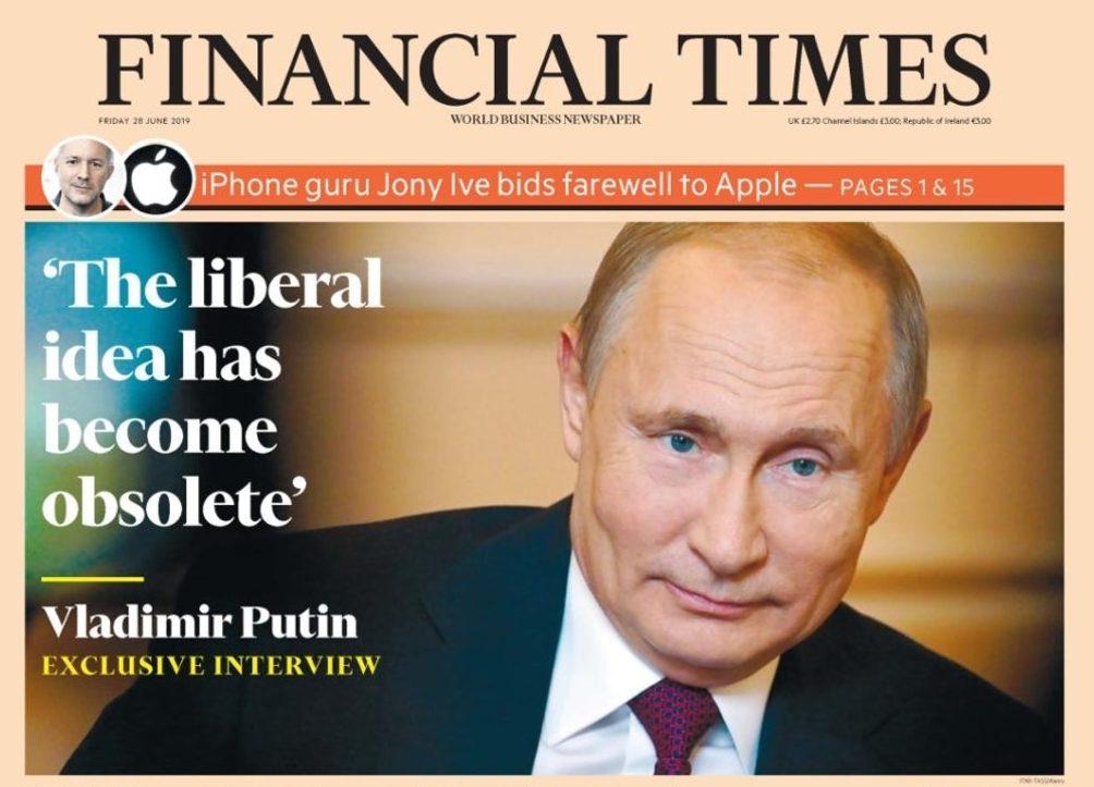 Il liberalismo è obsoleto … parola di Putin – Roberto Pecchioli