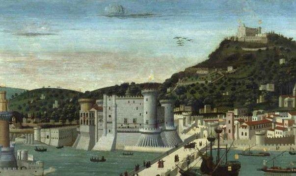 La tavola Strozzi: la prima immagine di Napoli – Luigi Angelino