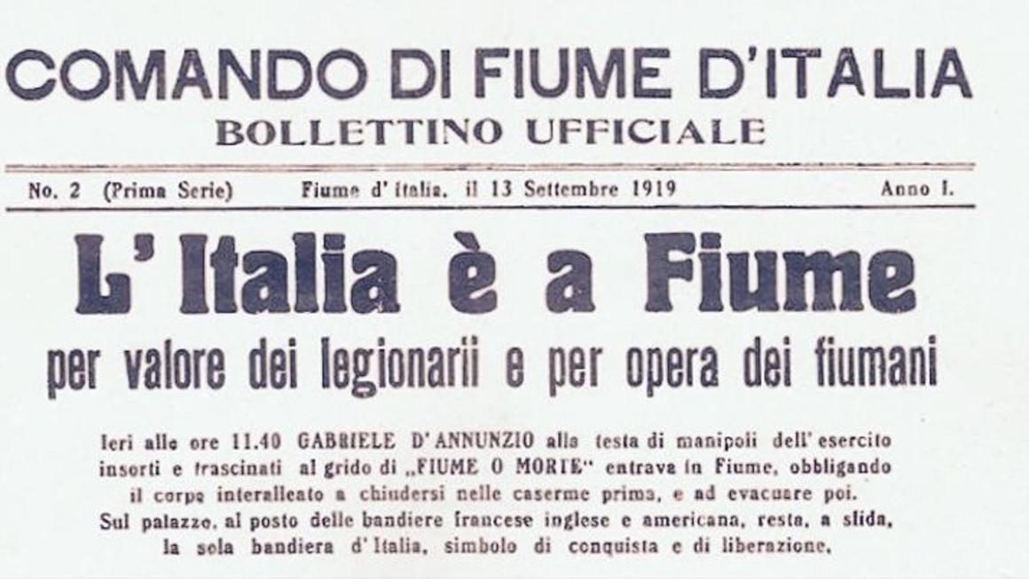 D'Annunzio a Fiume: Idee Potenti per l'oggi e per il domani – Giandomenico Casalino