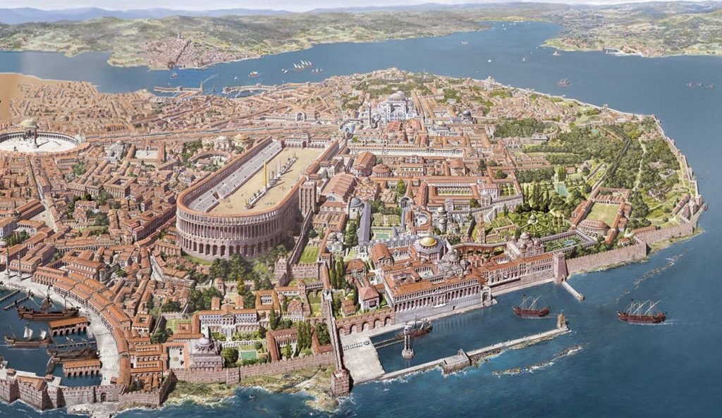 Da Bisanzio a Costantinopoli tra mito e storia – Luigi Angelino