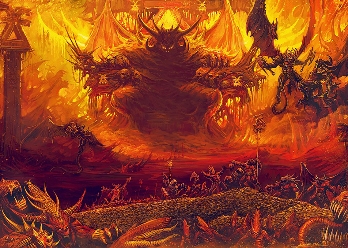 """Il nuovo """"dio del Caos"""" –  Dana Lloyd Thomas"""