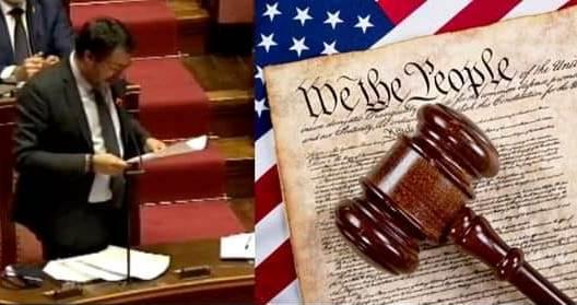 Il segretario della Lega e la Dichiarazione d'Indipendenza degli Stati Uniti d'America – Marco Zenesini