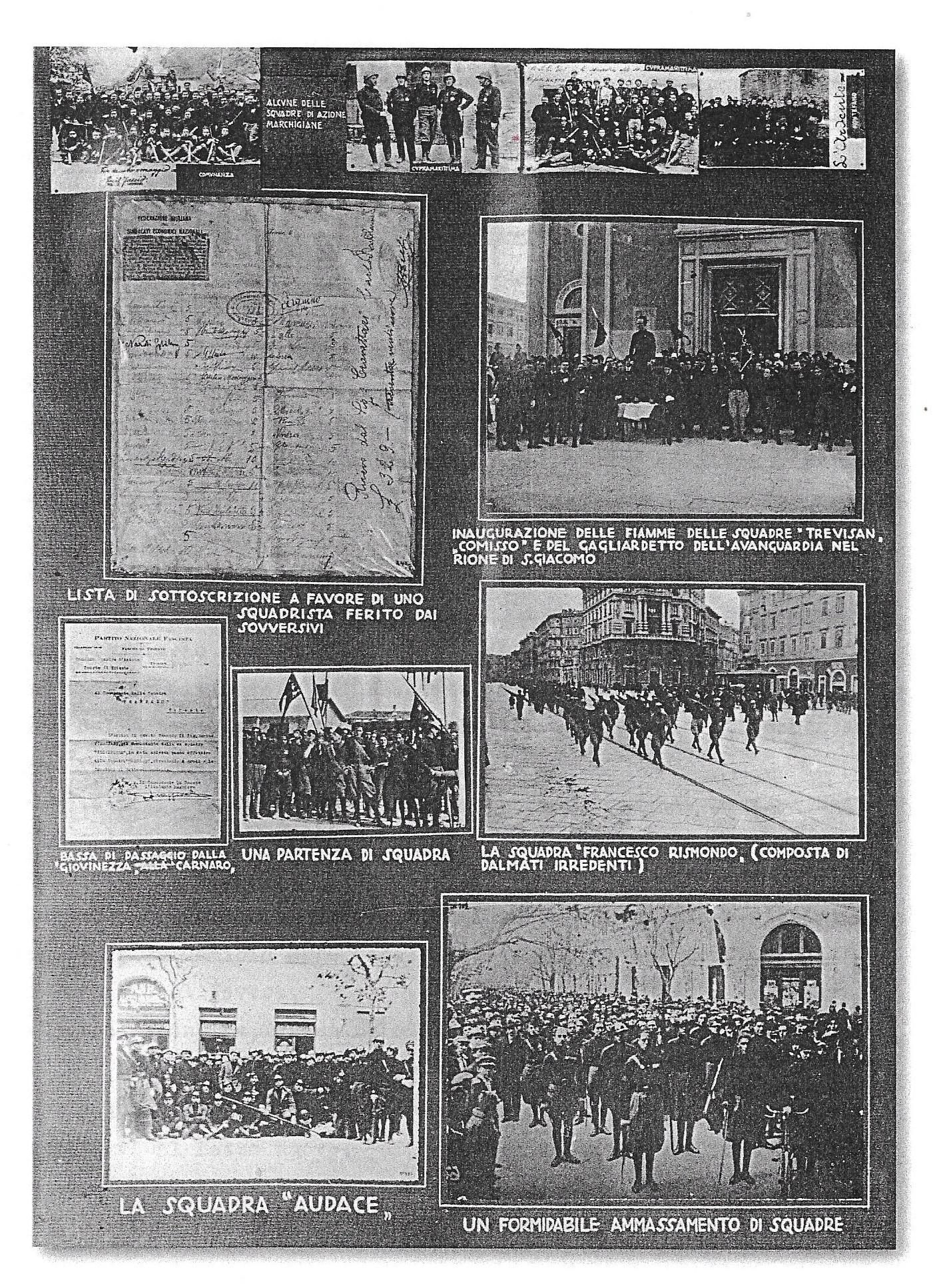 """STORIA DELLO SQUADRISMO TRIESTINO NEL 1920: """"Il fascismo triestino nacque povero. Non c'erano agrari e non c'erano industriali"""" (1^ parte) – Giacinto Reale"""