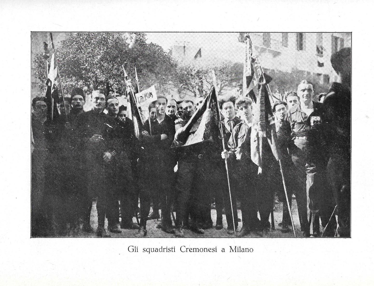 Cremona, Settembre 1920: la sera del 6 Settembre cadono 2 fascisti, ma è la fine del bolscevismo rosso e bianco in città (seconda parte) – Giacinto Reale