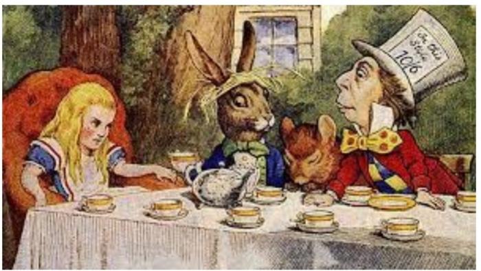 Alice nel paese delle mascherine – Livio Cadè