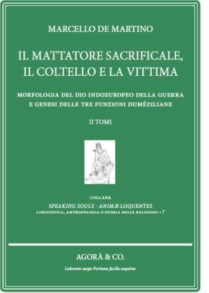 Il mattatore sacrificale, il coltello e la vittima – Marcello De Martino