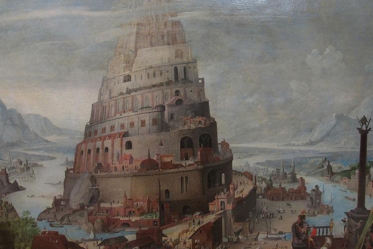 La Torre di Babele – Luigi Angelino