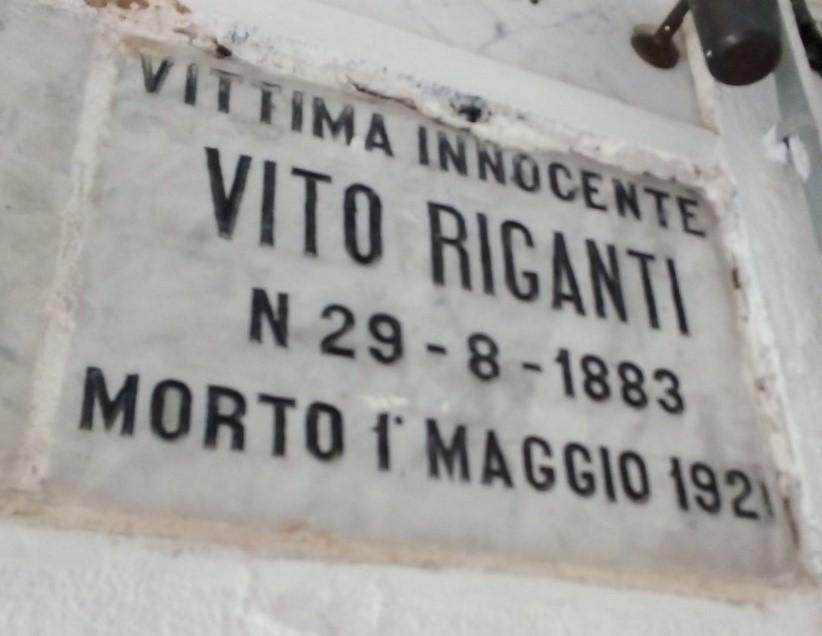 Come ti festeggio il 1° Maggio: l'omicidio Riganti – Pietro Cappellari