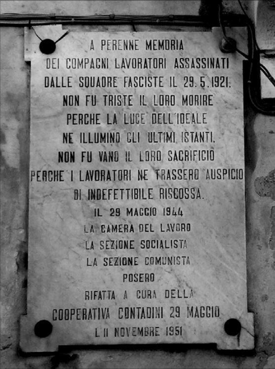 La strage di Passo Gatta (Modica) del 29 Maggio 1921 –Pietro Cappellari