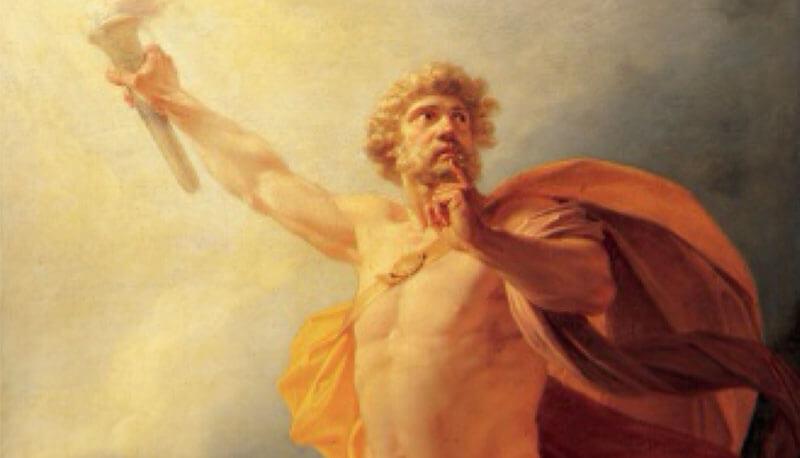 Prometeo, il titano amico dell'umanità – Luigi Angelino