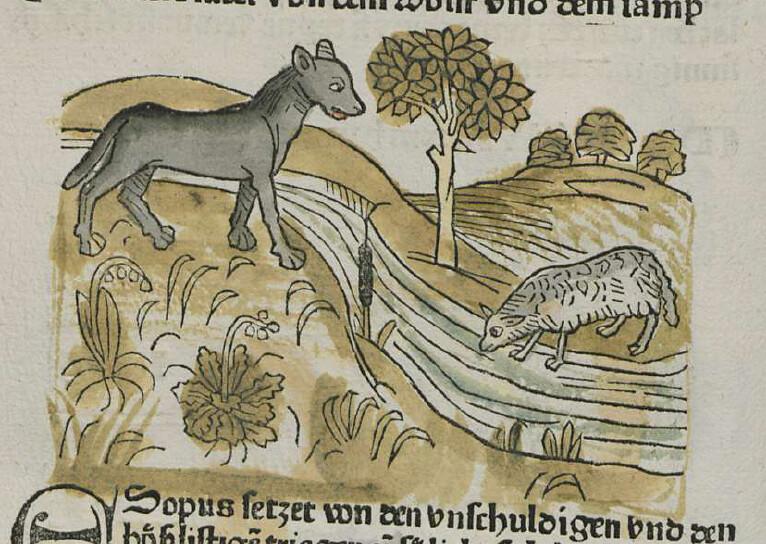Il lupo e l'agnello – Livio Cadè